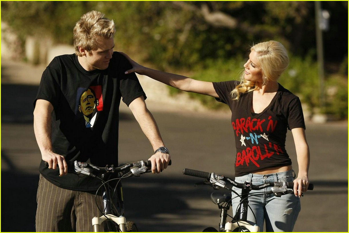 heidi montag spencer pratt biking barack 021661101