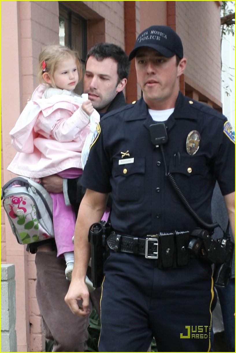 violet affleck ben affleck police escort 371672421