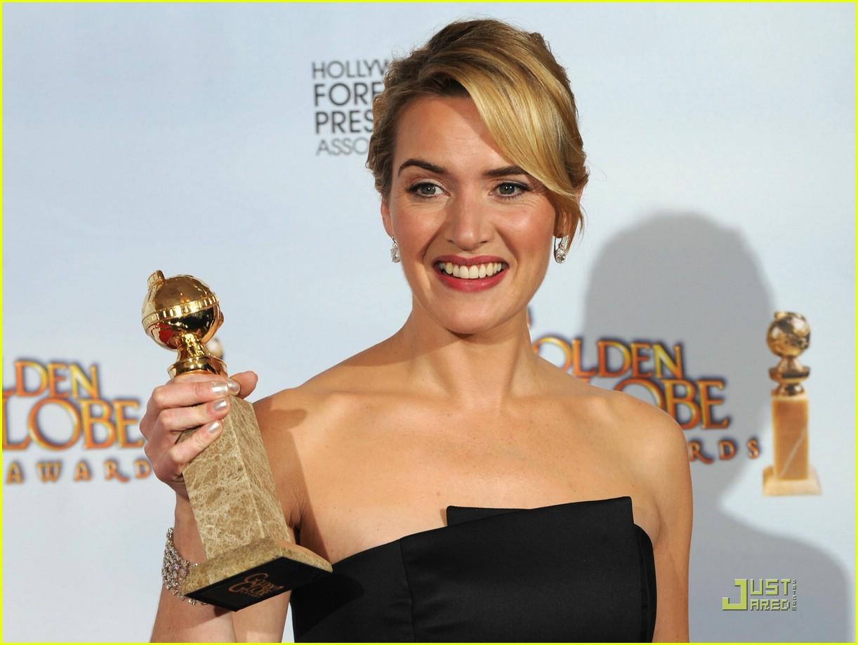 kate winslet golden globes 2009 best actress 271645971