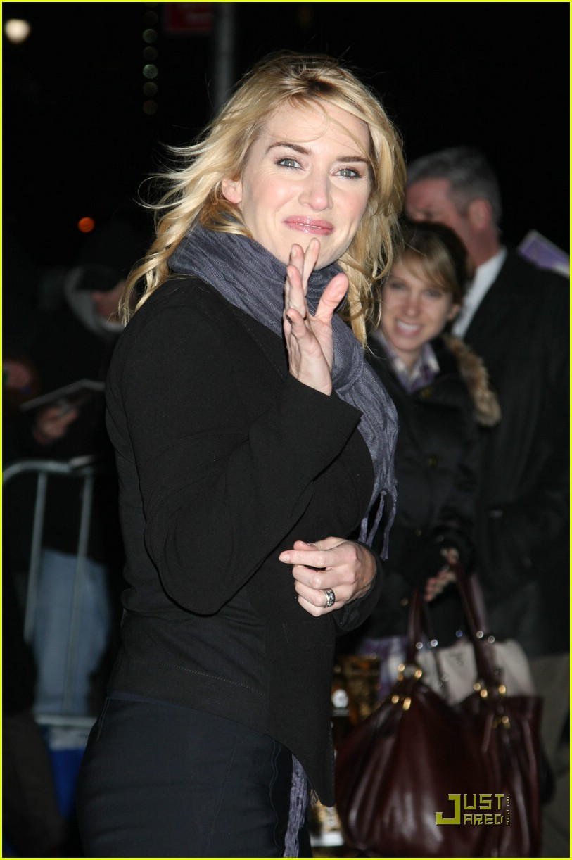 kate winslet late show david letterman 021639701