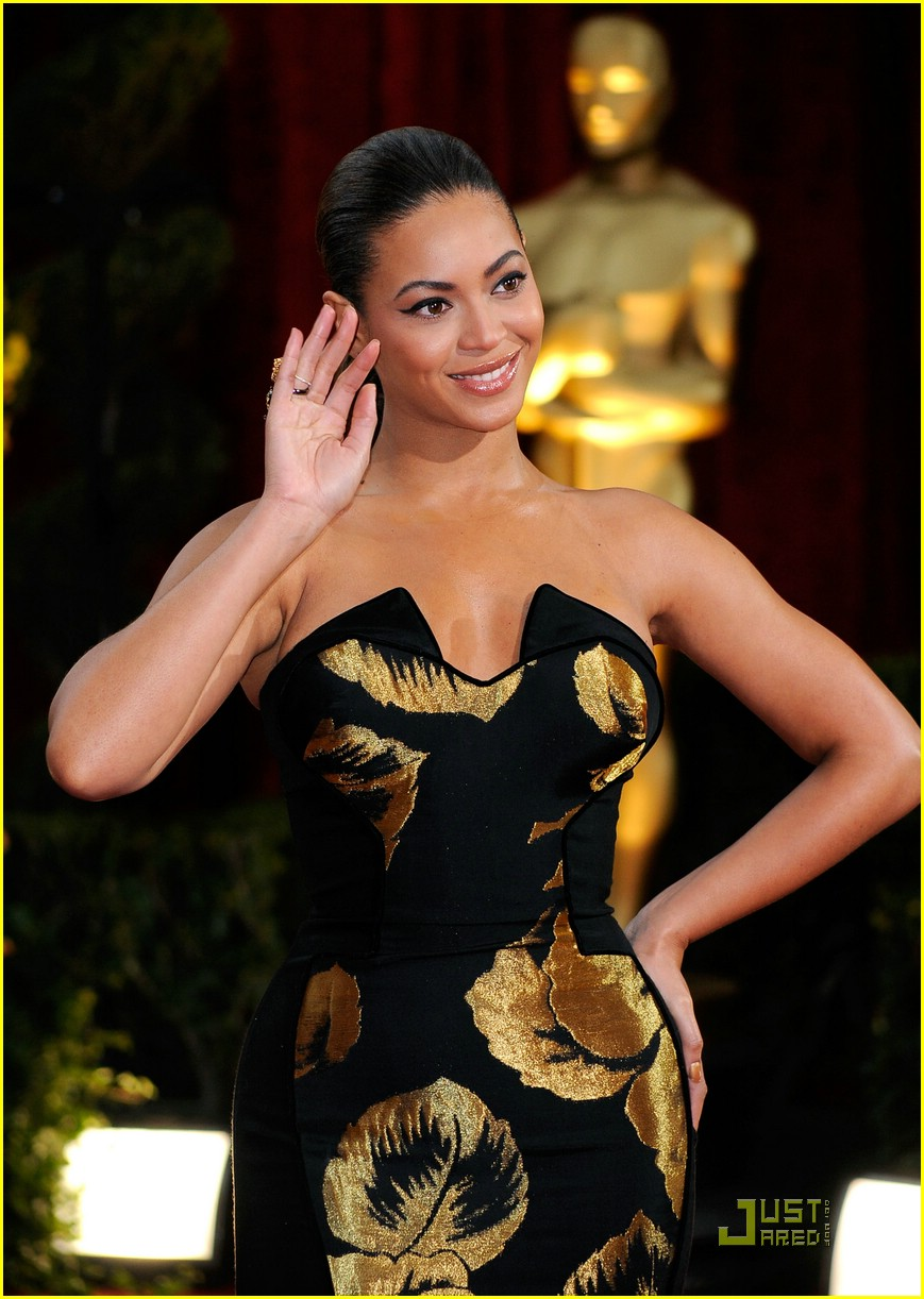 beyonce knowles 2009 oscars 051744461