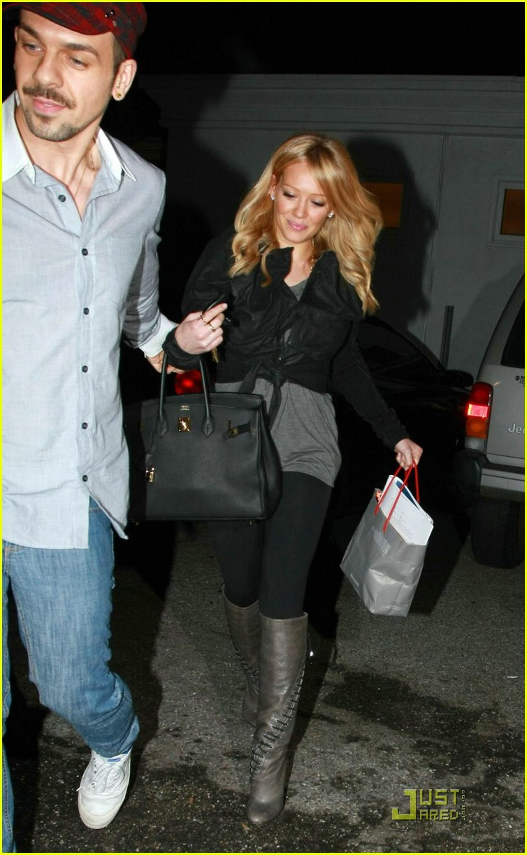 hilary duff byron and tracey salon 071757641