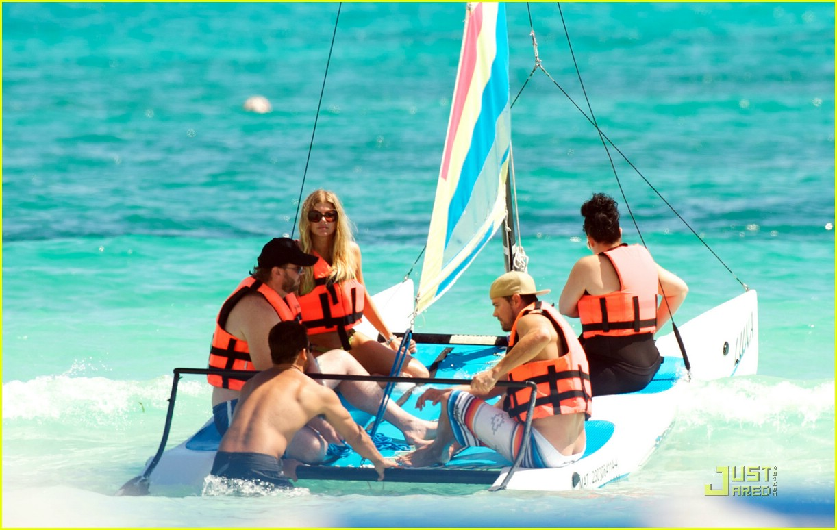 fergie josh duhamel sailboarding 101728521