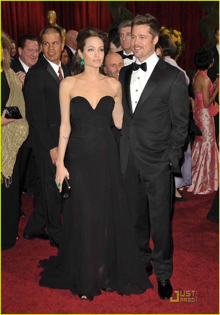 Angelina Jolie Amp Brad Pitt Oscars 2009 Photo 1744381