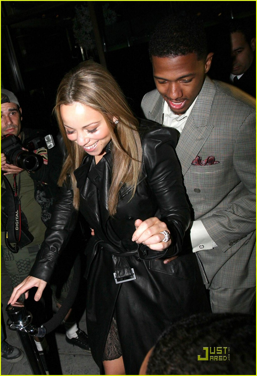 mariah carey nick cannon mr chow 031702451