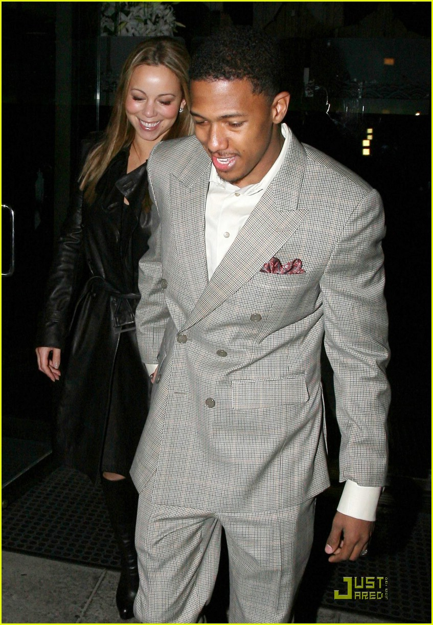 mariah carey nick cannon mr chow 091702511
