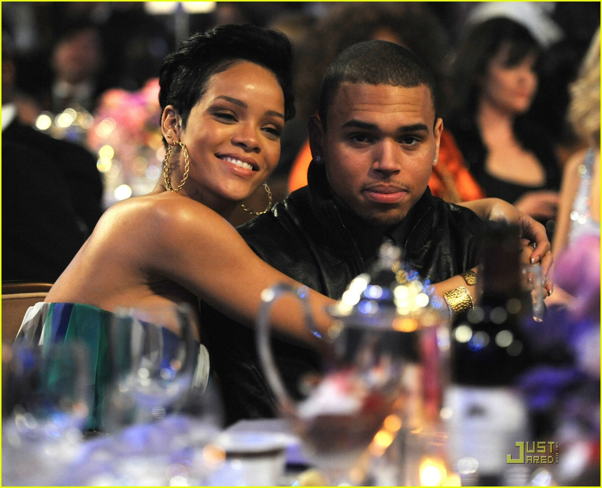rihanna chris brown grammys 011709281