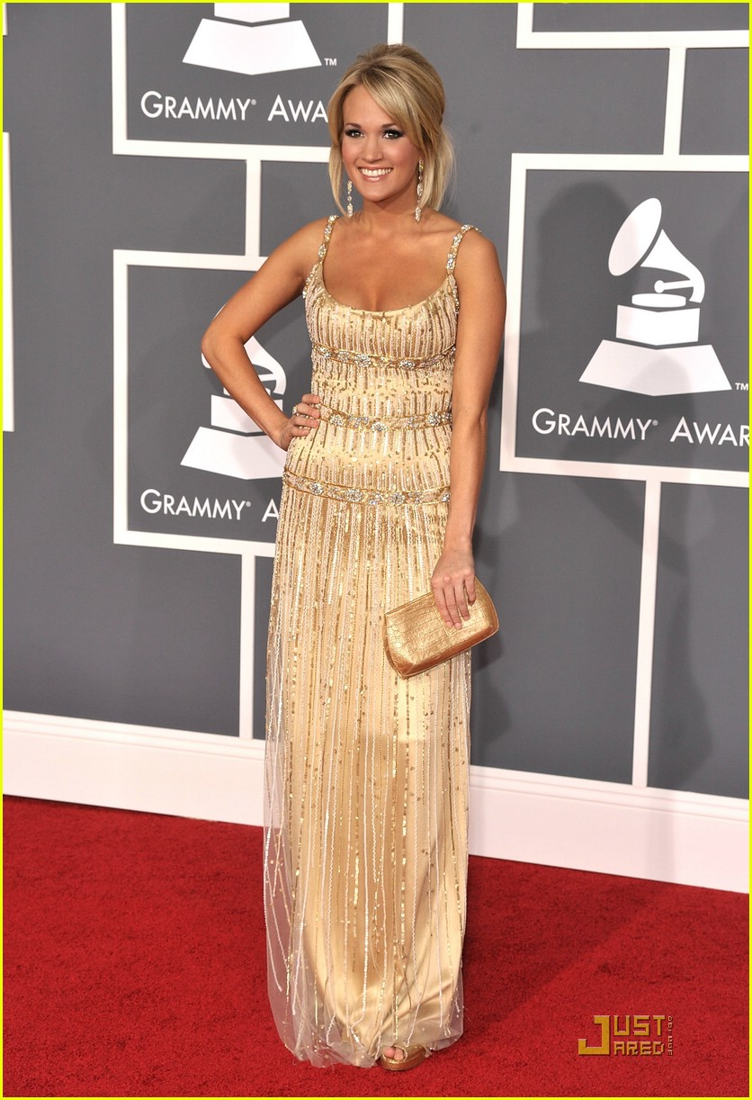 carrie underwood grammys red carpet 2009 251710691