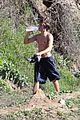 zac efron shirtless hiking hunk 18