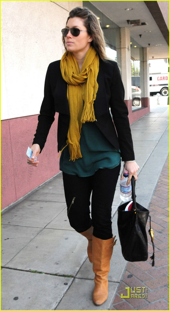 jessica biel beverly hills lunch 06