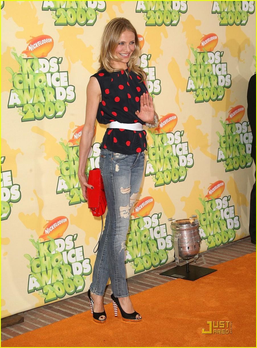 cameron diaz 2009 kids choice awards 121819291