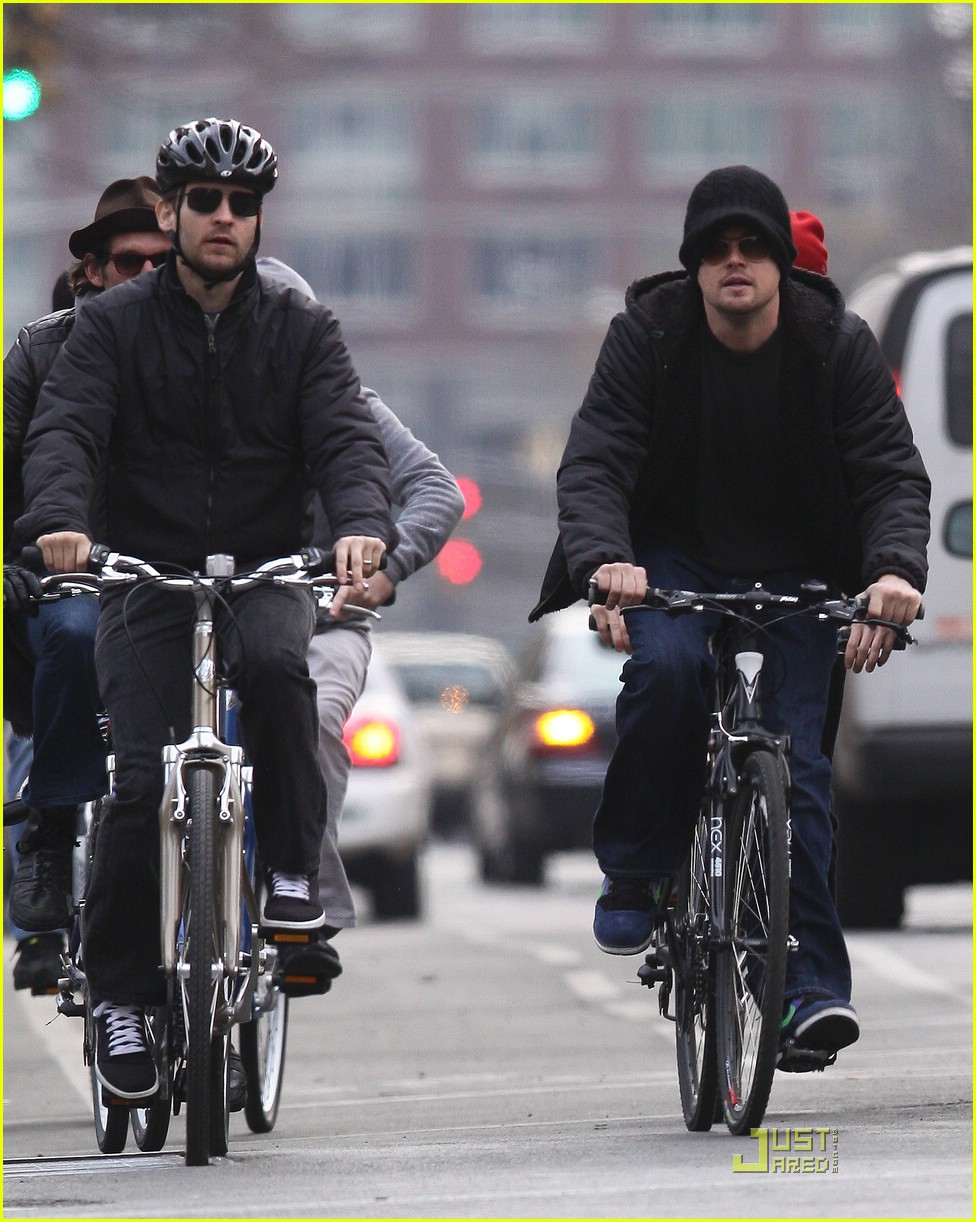 leonardo dicaprio smoking cyclist