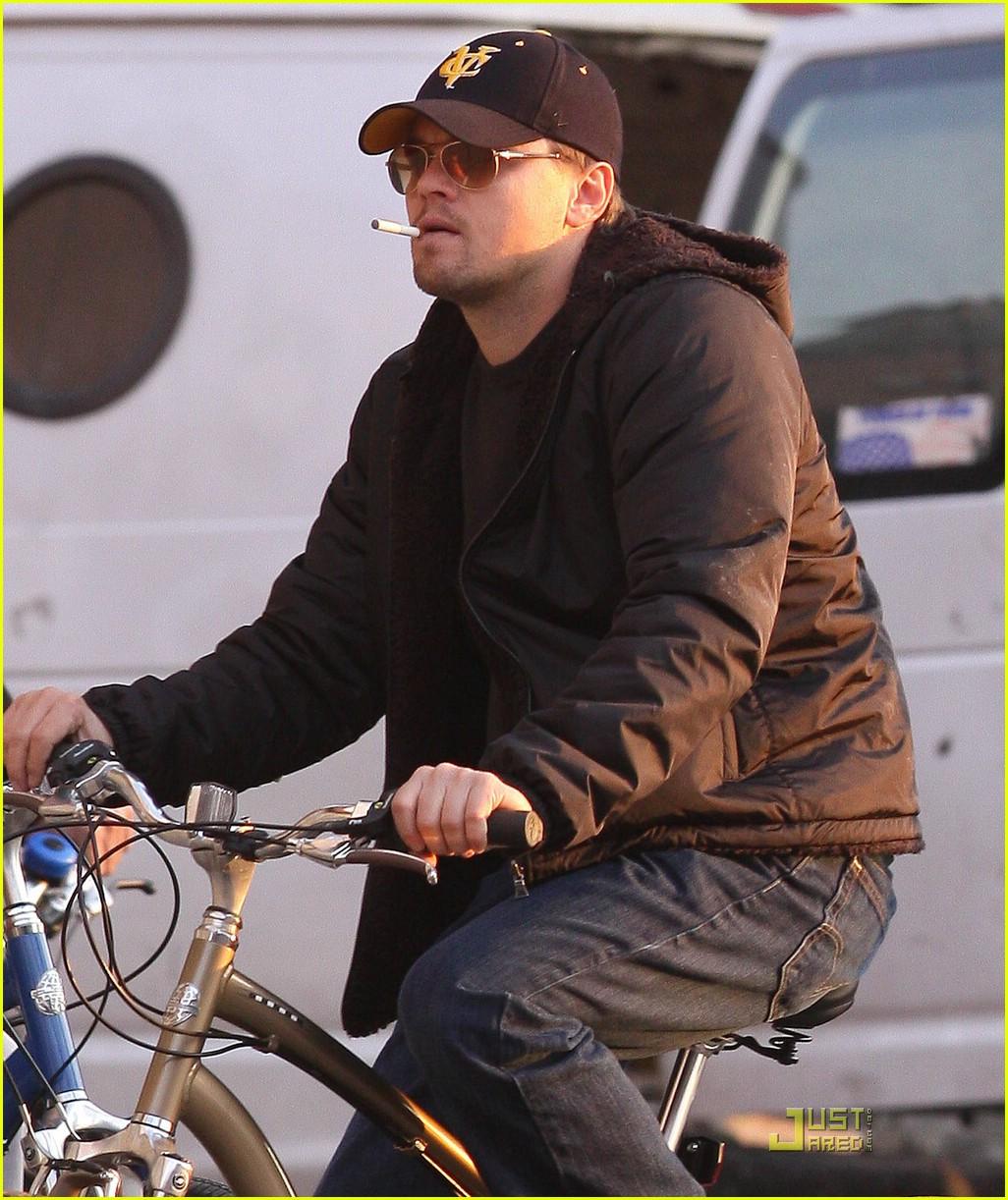 Leonardo Dicaprio Is A Smoking Cyclist Photo 1778781