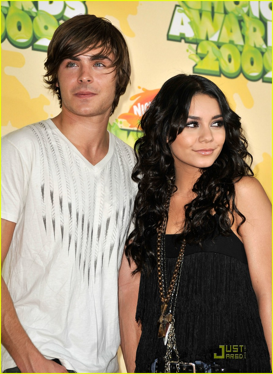 zac efron vanessa hudgens 2009 kids choice awards 11