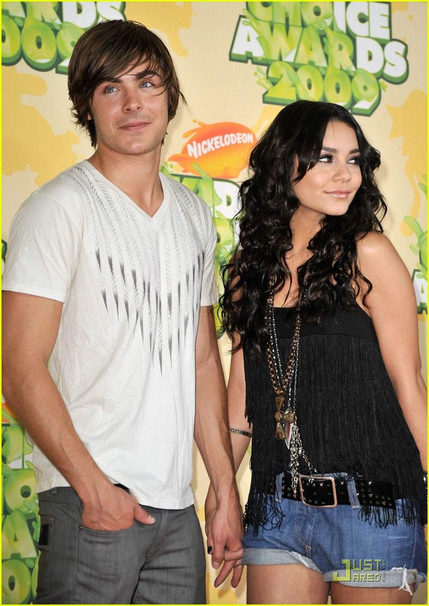 zac efron vanessa hudgens 2009 kids choice awards 12