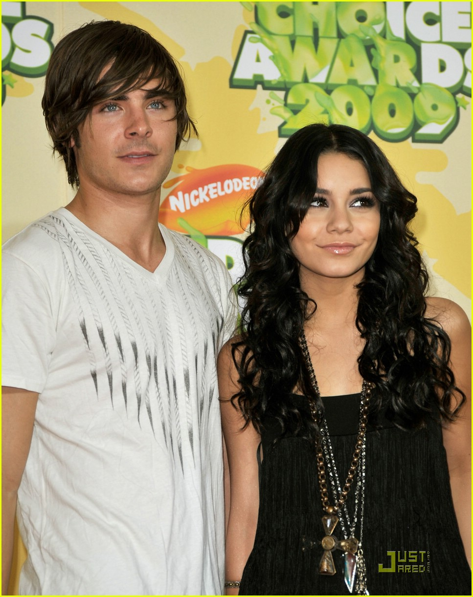 zac efron vanessa hudgens 2009 kids choice awards 16