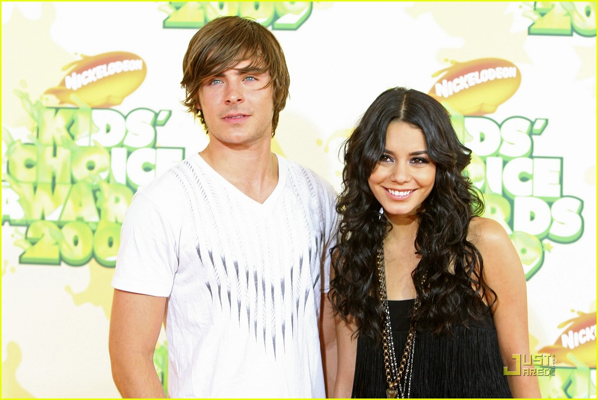 zac efron vanessa hudgens 2009 kids choice awards 181818831