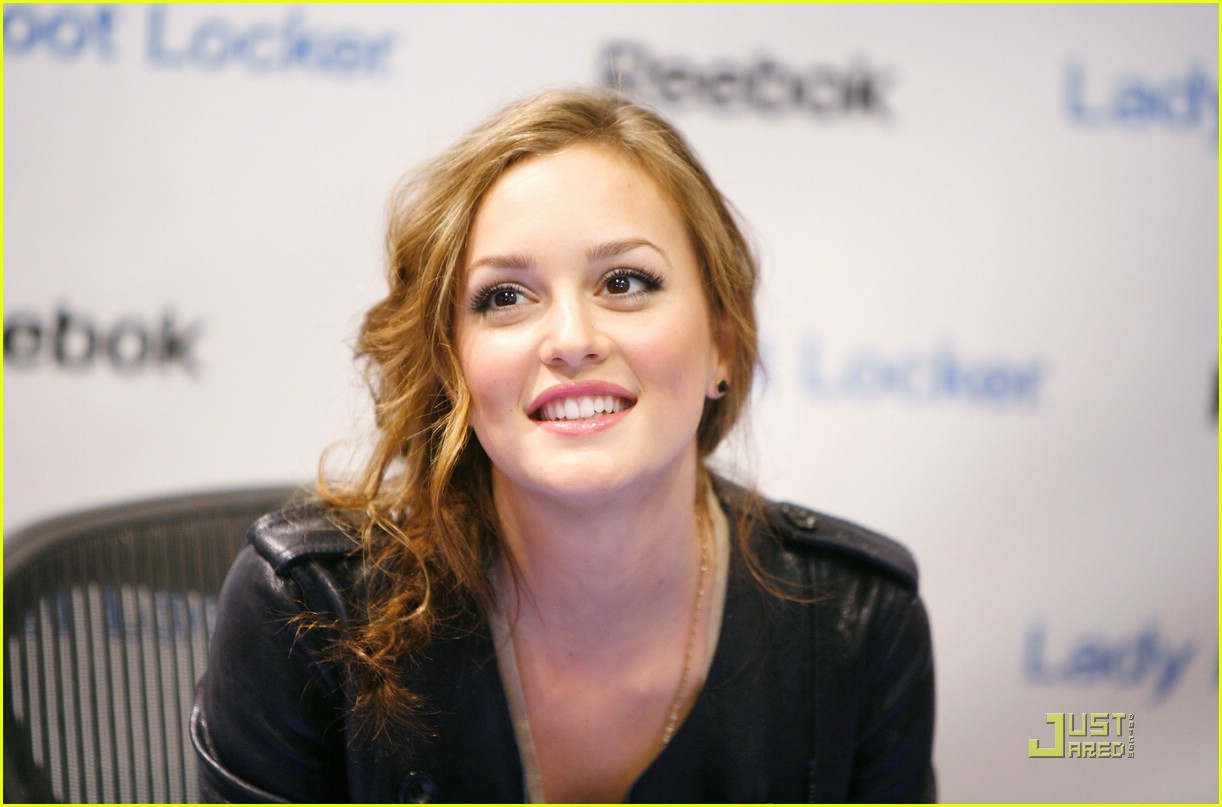 leighton meester top down reebok 09