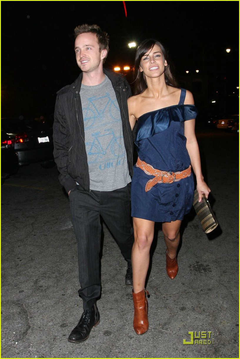 jessica lowndes aaron paul 06