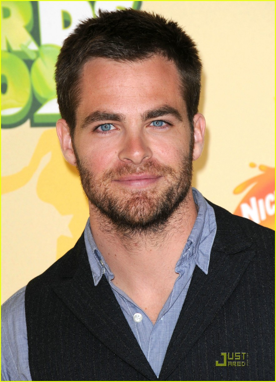 chris pine nickelodeon kids choice awards 07
