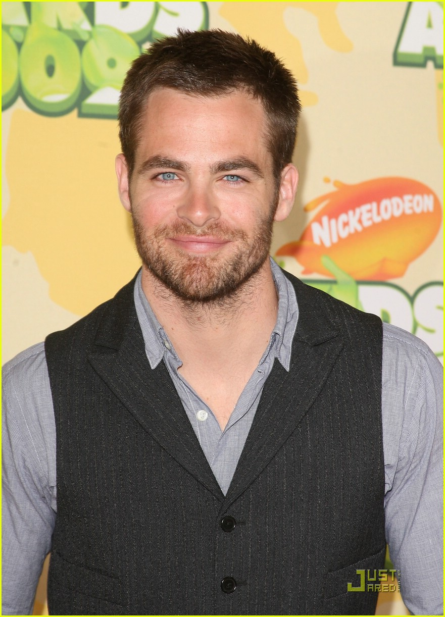 chris pine nickelodeon kids choice awards 101821571