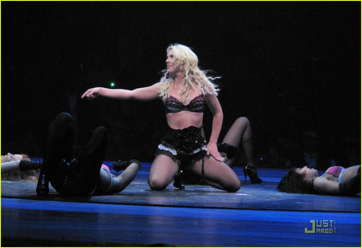 Britney spears circus tour vagina more