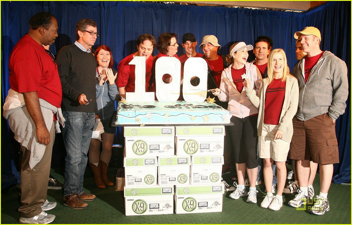 the office 100th episode celebration 051854501