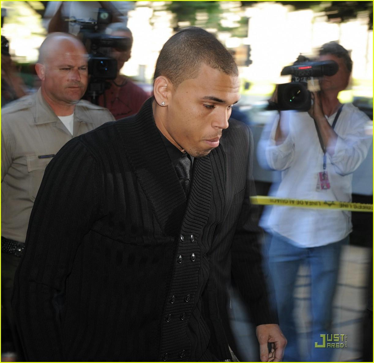 chris brown pleads not guilty 021837861