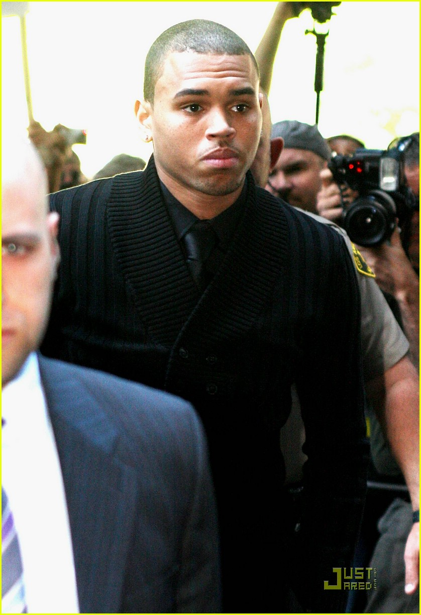 chris brown pleads not guilty 231838071
