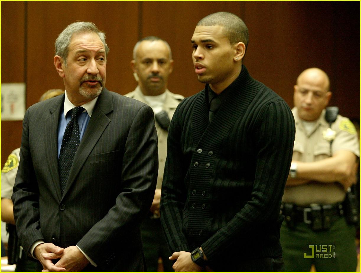 chris brown pleads not guilty 241838081