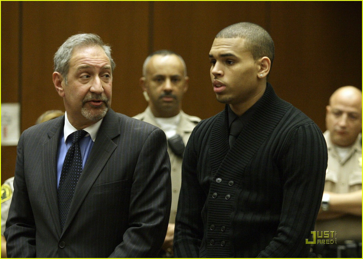 chris brown pleads not guilty 261838101