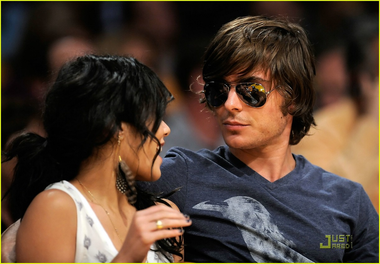 zac efron vanessa hudgens lakers 11