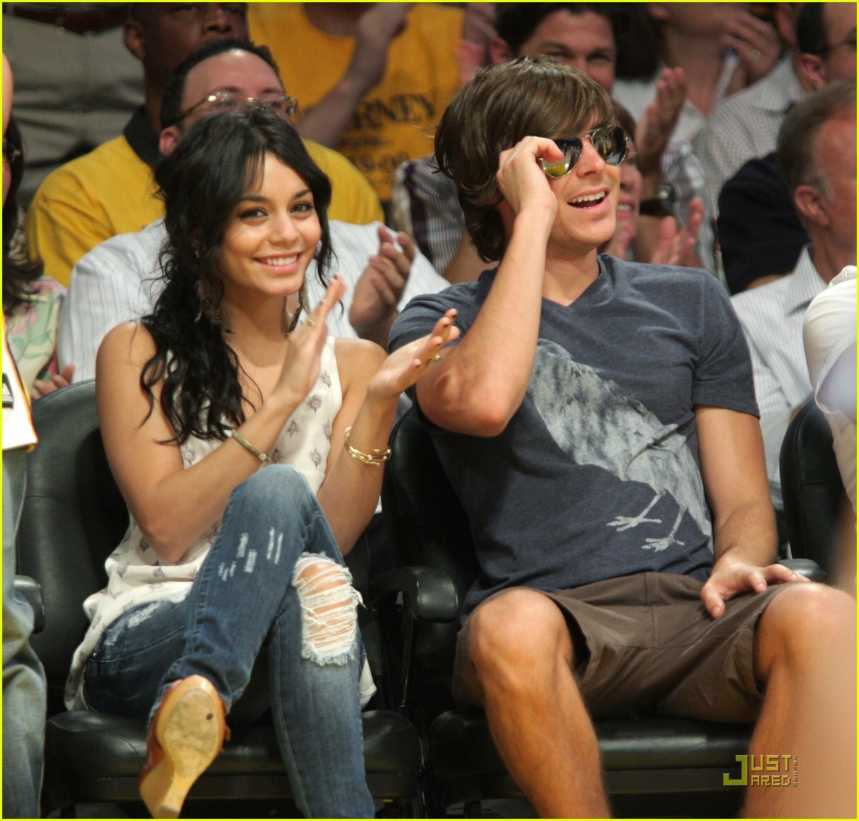 zac efron vanessa hudgens lakers 20