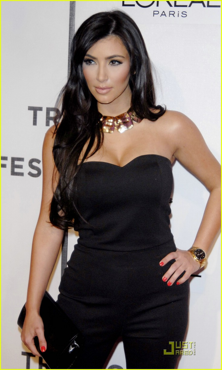 kim kardashian back black 171885261