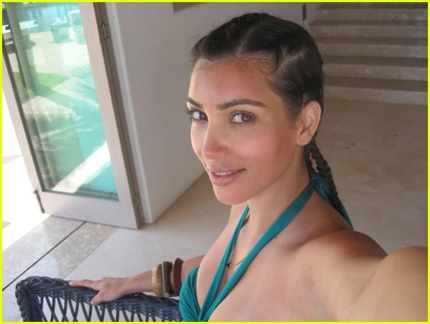 kim kardashian sunburn cornrows 001866861