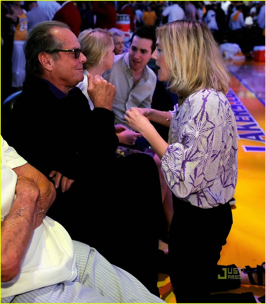 drew barrymore lakers game 03
