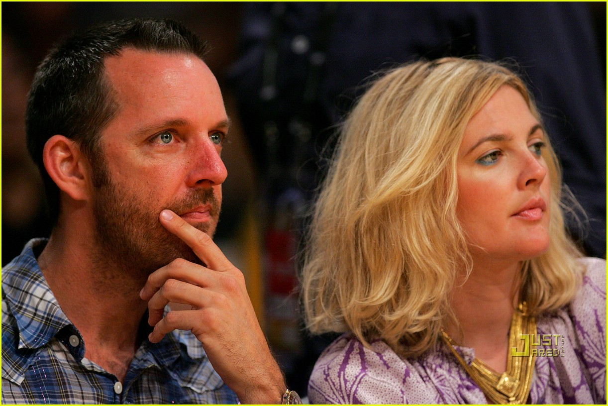 drew barrymore lakers game 11
