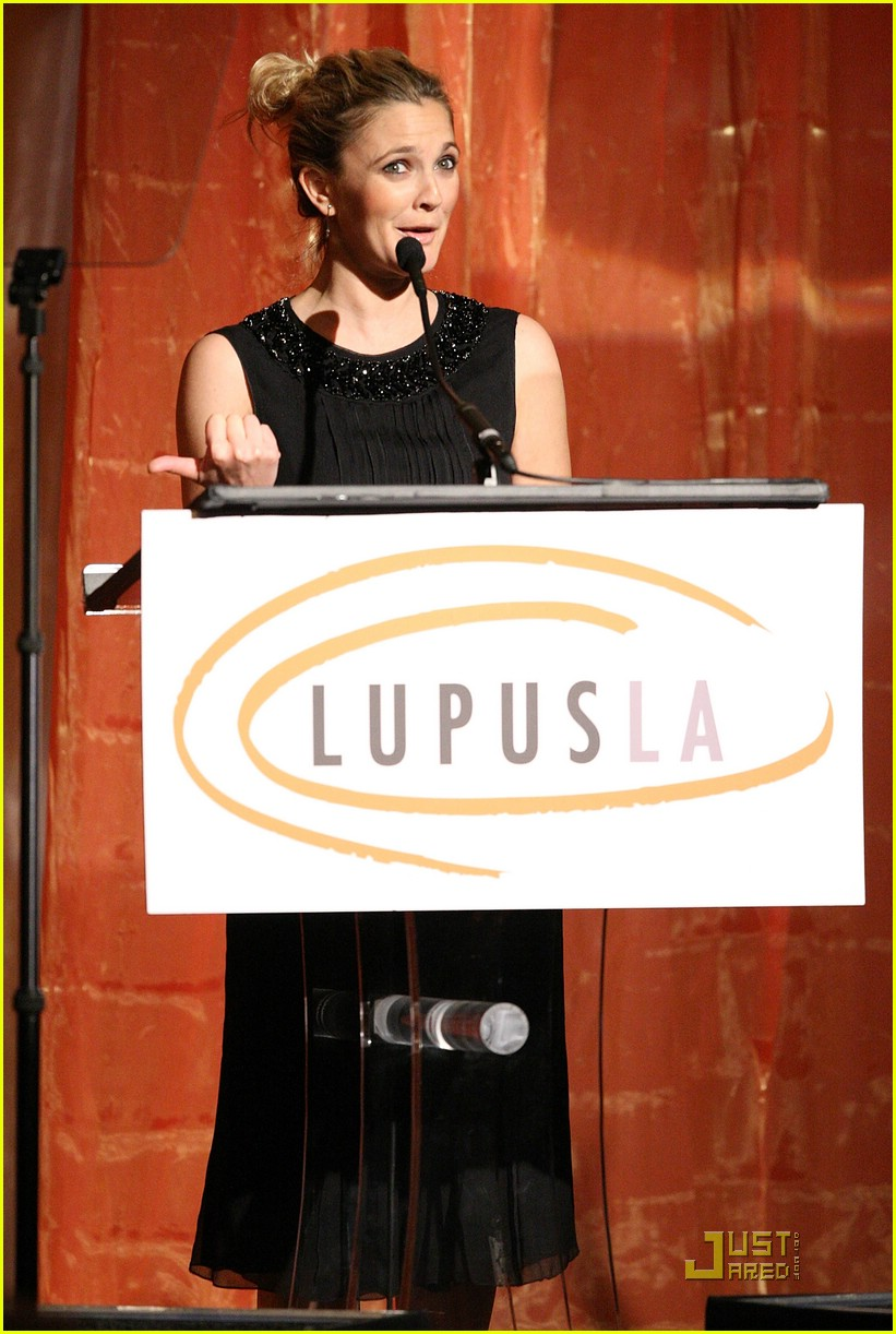 drew barrymore lupus orange ball 101953171