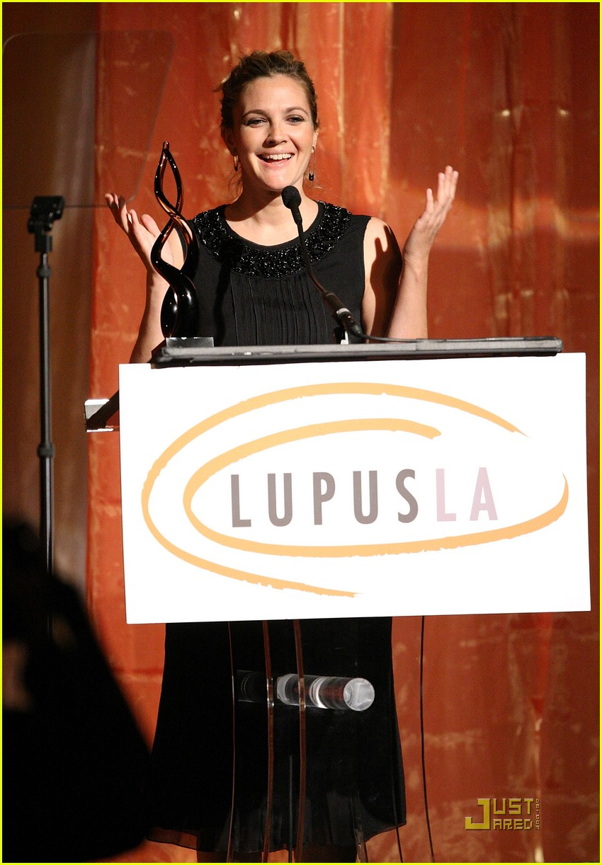 drew barrymore lupus orange ball 201953271