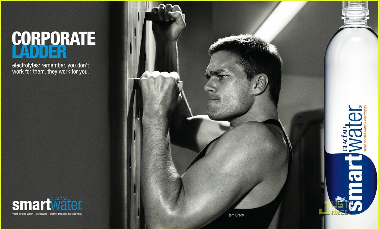 tom brady smartwater ads 021893841