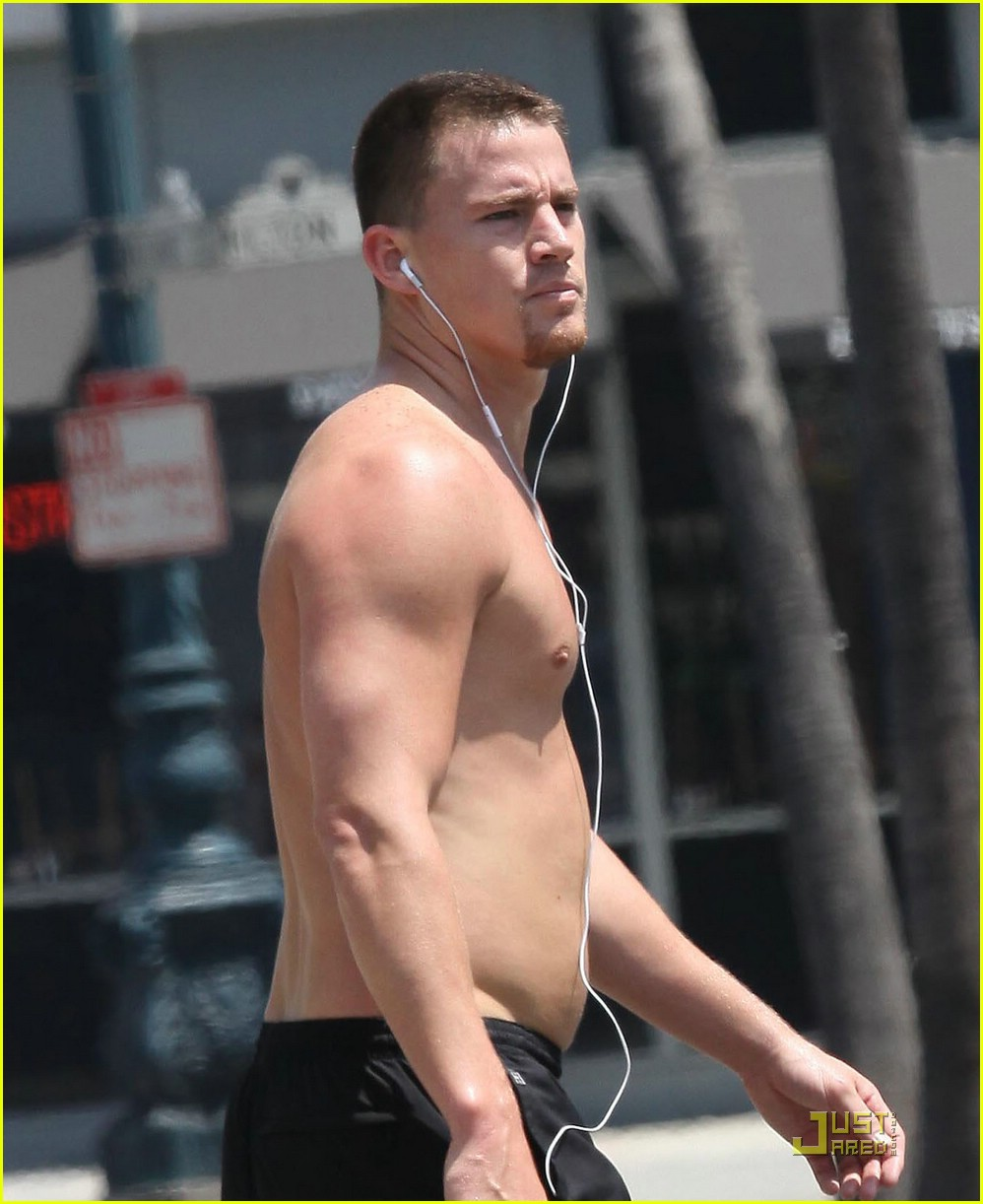 shirtless Channing tatum
