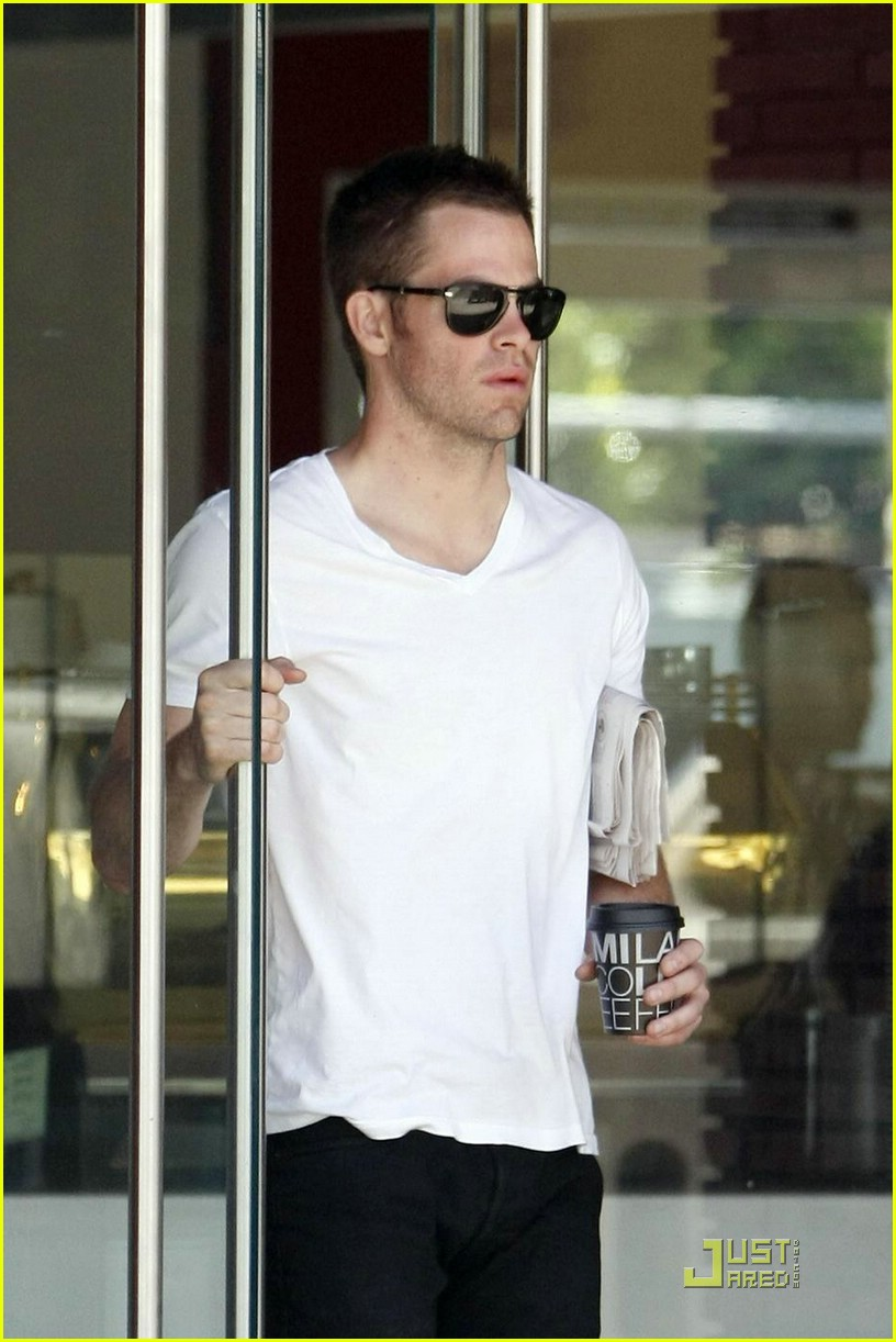 chris pine coffee 171923431