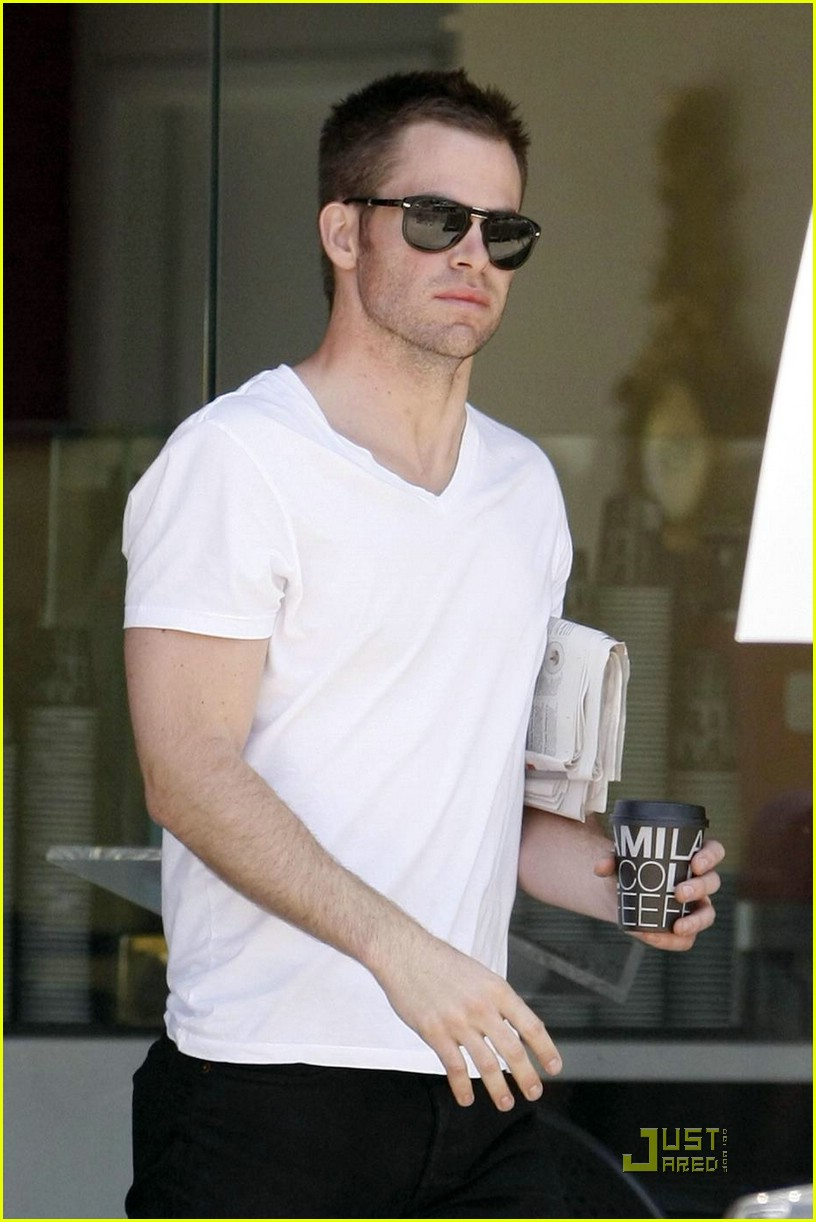chris pine coffee 181923441
