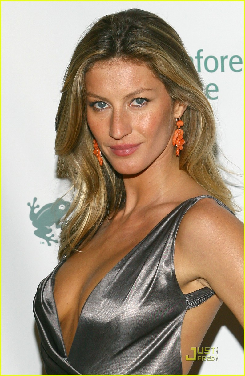 Gisele Bundchen is Rainforest Alliance Ravishing: Photo ... Gisele Bundchen