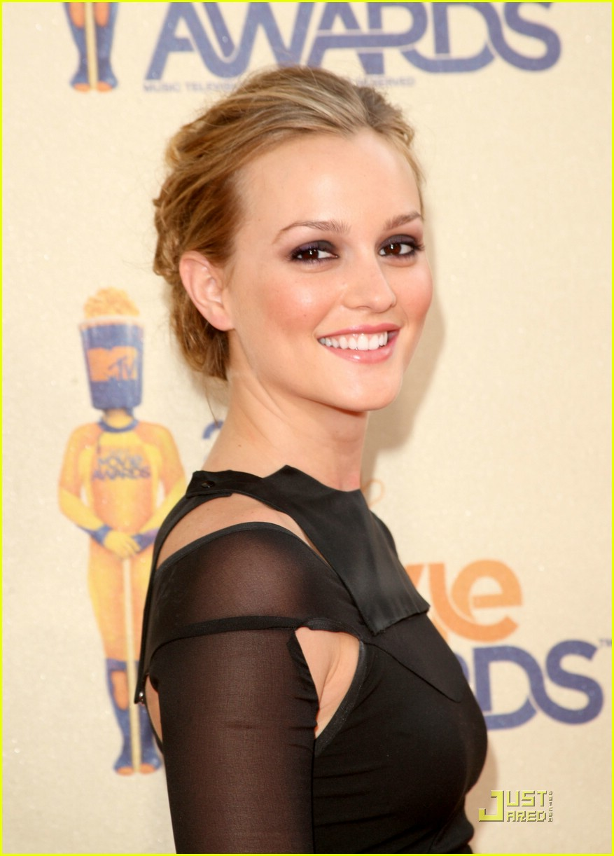leighton meester mtv movie awards 2009 13