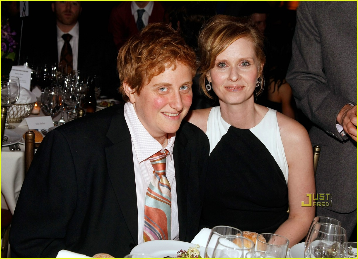 cynthia nixon engaged christine marinoni 07
