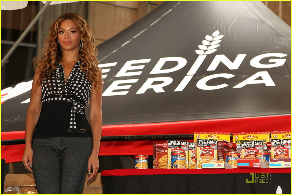 beyonce show your helping hand 18