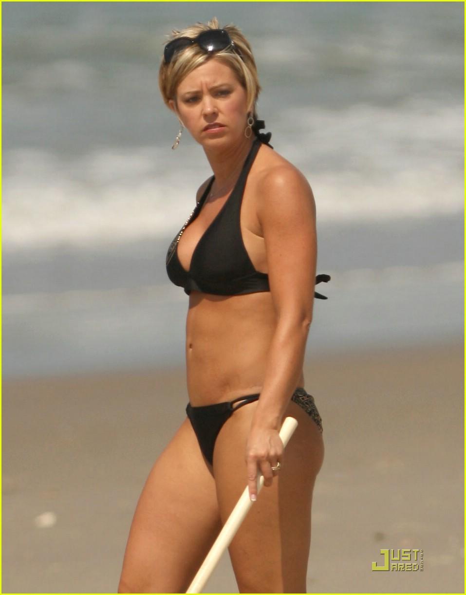 Kate Gosselin Black Bikini Pics