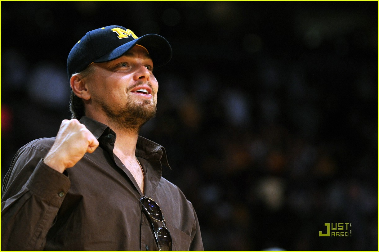 leonardo dicaprio is keen on kobe 08