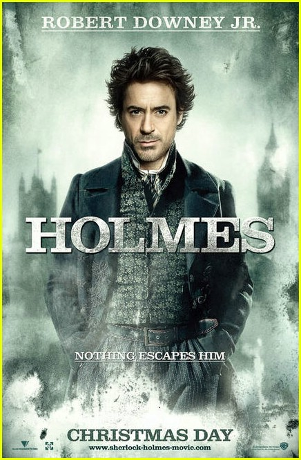 jude law sherlock holmes movie poster 021998931